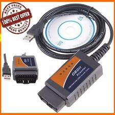 HOT ELM327 USB Interface OBDII OBD2 Diagnostic Auto Car Scanner Scan Tool Cable