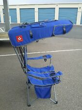 Renetto 2.0 HEAVY DUTY, ROYAL BLUE, Original Canopy Chair, with mesh seat insert