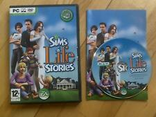 The Sims Life Stories PC DVD ROM base game Windows