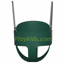 Baby Swing set Toddler Full Bucket Seat Child playset backyard Playground Green