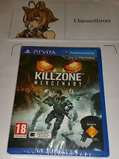 Killzone Mercenary PSV New Sealed UK PAL Game Sony PlayStation Vita PS Vita