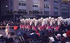 EKTACHROME 35mm Slide Parade Marching Band Fancy Costumes Large Crowd 1974!!!