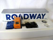 "Roadway Express First 1st Gear 1/34th ""R"" Mack Cab w Trailer"