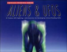 Critical Reading Series: Aliens & UFO's by McGraw-Hill - Jamestown FREE SHIPPING