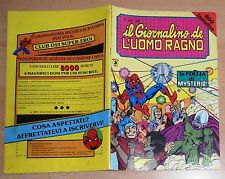 ED.CORNO SERIE  IL GIORNALINO DELL'UOMO RAGNO  N° 28  1981  !!!!!