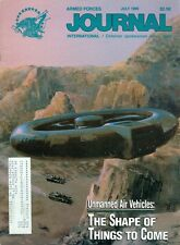 1990 Armed Forces Journal Magazine: Unmanned Air Vehicles Drones Shape to Come