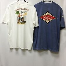 Tommy Bahama Men's T-Shirt Crew Neck (2nd Quality) 2 for $25.99 XL 100% Cotton