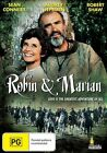 ROBIN AND MARIAN DVD 1976 New & Sealed Region 4 Sean Connery Audrey Hepburn