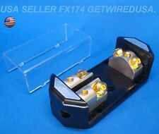 0 GAUGE POWER DISTRIBUTION BLOCK 1/0 0 IN & 2 4 AWG OUT ANL FUSE HOLDER