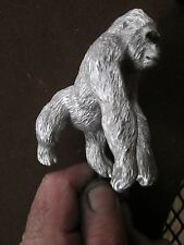 gorilla  mountain silverback , ratrod hotrod, car hood ornament