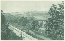 G0169 Luxembourg - Vue générale - Stampa d'epoca - 1923 Old print