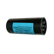 Electric Motor Starting Capacitor 100MF @ 250 Volt 100-120uF/250V - CMC7011