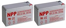 NPP 12V 7Amp 12 Volt 7Ah 7.5Ah 8Ah AGM Deep Cycle Battery With F2 Terminals / 2