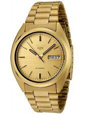 Seiko Men's SNXL72 Seiko 5 Automatic Gold-Tone Stainless Steel Watch