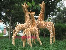 simulation giraffe toy lovely standing plush big giraffe doll gift about 96cm