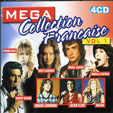 Mega Collection Francaise 1 Mega Collection Francaise Music-Good Condition