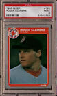 Roger Clemens Red Sox 1985 Fleer #155 Rookie Card rC PSA 9 Mint