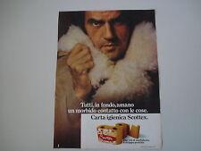 advertising Pubblicità 1974 SCOTTEX