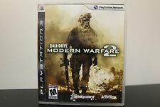 Call of Duty: Modern Warfare 2  (Sony Playstation 3, 2011) *Tested/Complete