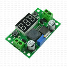 LED LM2596 Voltage Regulator Voltmeter Buck Step Down Converter Adapter Module