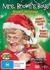 Mrs Brown's Boys - Crackin' Christmas (DVD, 2016) NEW R4 CRACKING BROWNS