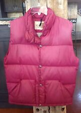 Vintage Womens THE NORTH FACE Down Puffer Vest sz. Small