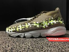 Nike Air Footscape Woven Chukka 443686 203 10 rainbow leopard black
