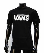 Vans Skateboard Classic Black/White Logo Mens T shirt Size Medium