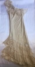 Vintage Lorrie Kabala Collectable Women's SZ 4 Victorian Wedding Gown Lace Dress