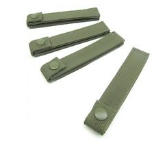 Condor MOLLE Straps OD Green -223  4in - 4 Pack NEW