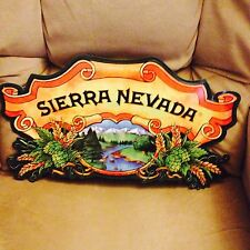 Sierra Nevada beer tin metal sign