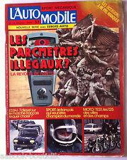 L'AUTOMOBILE du 3/1975; Essai 7 diesel; Peugeot 204 D/ 504 L/ 504 GL/ Mercedes