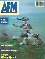 Air Forces Monthly 78 F-15 US Army Black Hawks RAF Puma Sorties Belize Hercules