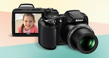 Nikon Coolpix L340 20.2 Megapixels & 28x Optical Zoom with VAT PAID BILL