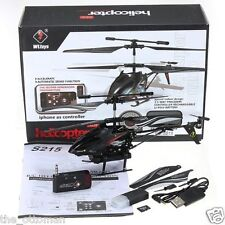 Wltoys S215 3.5Channel iPhone Control RC Helicopter with Gyro and Spy Camera RTF