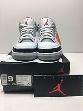 Nike Air Jordan 3 III Retro Fire Red Flip True Blue Bred Black Cement OVO Sz 9