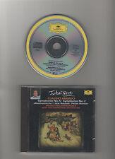 Peter Tschaikowsky : Symphony Nr. 4 & Nr. 2 / Claudio Abbado / DGG CD