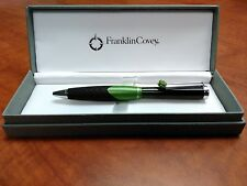 Franklin Covey Norwich Green Ballpoint Pen- Black Ink