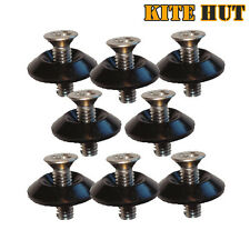 8 Kite Board M6 Fin Screws & Black Washers, kitesurf, Twintip, Wakeboard Kitehut
