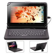 "iRULU 9"" Android 4.4 Tablet PC Quad Core & Dual Camera 8GB WIFI With Keyboard"