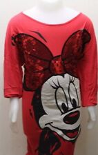H&M Disney Long Blouse Or Dress Minnie Mouse Sz 10-12 Sequins Kid Girl