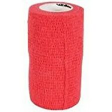 HYHEALTH VET WRAP SPORTWRAP HORSE EQUINE BANDAGE RED 10CM X 450CM FOR POULTICE