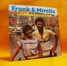 "7"" Single Vinyl 45 Frank & Mirella In 't Diepst Van Je Hart 2TR 1983 (MINT) Pop"