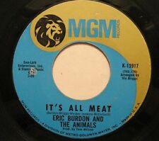ERIC BURDON + the ANIMALS Anything/It's All Meat 45 bb USA 60s psych oop L@@K