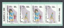 1989 Turkish Republic of Northern Cyprus 246a Europa Booklet Childrens Toys MNH*