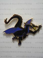 WDW Disney Four Parks One World MALEFICENT DRAGON FLYING Fantasmic Villain Pin