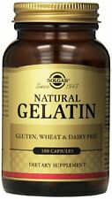 Solgar Gelatin Capsules with Calcium Carbonate, 100 Count