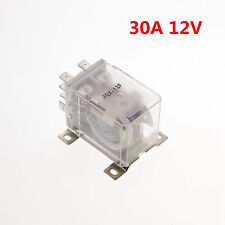 1pcs 12VDC 30A DPDT Power Relay Motor Control Silver Alloy
