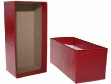 Guardhouse Single Row Crown - Red Coin Storage Box - 4.25 x 2.63 x 2.55