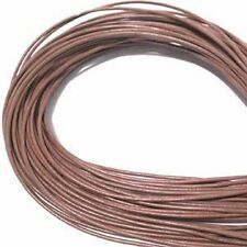 Rust 1.5mm Greek Leather Cord 41575 (5 meters) Round